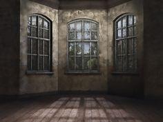 Posty pokój w opuszczonym budynku
