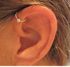 No Piercing Handmade Ear Cuff Helix Cuff by ArianrhodWolfchild