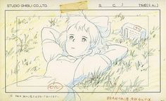 Living Lines Library: 魔女の宅急便 / Kiki's Delivery Service (1989) - Layout Design