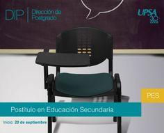 INICIO 20 DE SEPTIEMBRE UPSA: Postítulo en Educación Secundaria