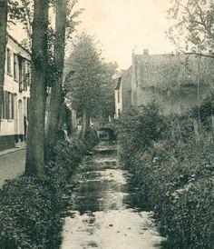 Sittard De Geleenbeek in Sittard rond 1900