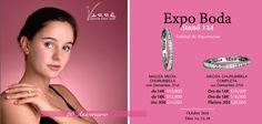 Expo Boda 2016... Octubre, ♥♥♥ Te esperamos en Expo Boda 2016, este 14, 15 y 16 de Octubre con grandes promociones. Recuerda que estamos en el Stand 124. #tbt #yonovia #joyería #expoboda #boda #elartedeammar