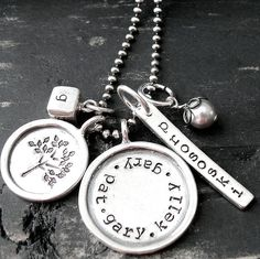 "Love this ""family"" necklace"