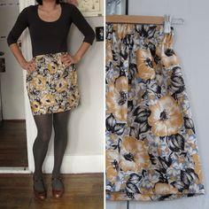 Eighteenth Century Agrarian Business: Easy Elastic Waist Skirt