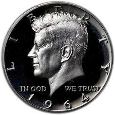 1964 50c accented hair pr | 1964 Kennedy Half Dollar PCGS PR 69 Cameo Accented Hair 50c Top Grade ...