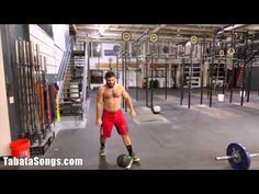 Mat Fraser CrossFit Tabata Crossfit Workouts for Beginners - YouTube