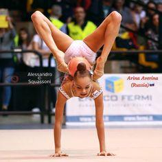 Arina AVERINA (Russia) ~ Ball @ 5° Trofee, Città Di Desio~Italy  Photographer Alessandro Squassoni.