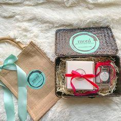 Christmas Gift Box #2 (Large & Small Pine Candle)