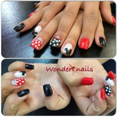 Lindas unhas do mickey!