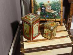 ♡ ♡  cajas de metal- Miniaturas de Mooghiscath técnica