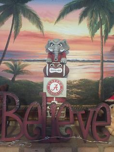 Believe RTR University of Alabama Crimson Tide Football, Alabama Football, Alabama Crimson Tide, Uofa Football, Sweet Home Alabama, University Of Alabama, Roll Tide, Ua, Rocks