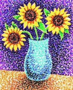 New flowers drawing sunflower art lessons ideas Art Texture, Atelier D Art, 4th Grade Art, Sunflower Art, Ecole Art, School Art Projects, Middle School Art, High School, Art Lessons Elementary