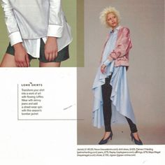 Palmer Harding, High Low, Editorial, Instagram Posts, How To Wear, Jackets, Shirts, Dresses, Fashion