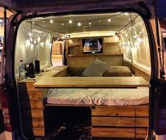 Spent the weekend fitting out the back of my new van, this is just the start #vanlife