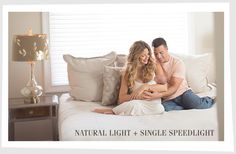 Natural light plus speedlight