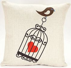 Caryko Home Decor Cotton Linen Square Pillow Case Cushion Cover (Love Cage) Caryko http://www.amazon.com/dp/B00ZIYBU7A/ref=cm_sw_r_pi_dp_8xWEvb0G2NG4N