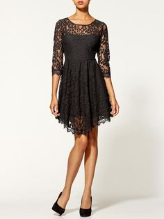 Piperlime | Floral Mesh Lace Dress