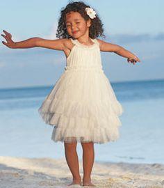 ivory stardust dress - Chasing Fireflies For Flower Girls Cute Flower Girl Dresses, Little Dresses, Girls Dresses, Flower Girls, Cute White Dress, Girls Party Dress, Frocks, Beautiful Dresses, Beautiful Clothes