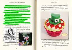 Cupcake Alice no País das Maravilhas (Chapeleiro Maluco). Beijos Açucarados