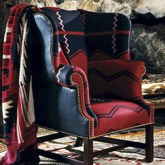 Hudson River Valley Wing Chair by Ralph Lauren Home