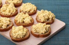 Toastjes Tofu'eier'salade