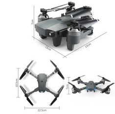 New Foldable RC Drone With 30w WIFI Camera 2.4G 4CH 6-Axis RC Helicopt – You Wish Gift