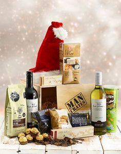 Buy The Ultimate Man Crate Online - NetGifts Man Crates, Same Day Delivery Service, Christmas Gifts, Seasons, Gift Ideas, Stuff To Buy, Xmas Gifts, Christmas Presents, Seasons Of The Year