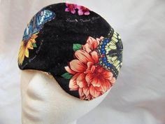 Woman's handmade sleep mask/ butterfly theme/ sleep aid/ eye care/ insomnia aid/ nocturnal comfort/ health & beauty/ body and bath/ artsy by JuLLuJ on Etsy