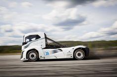 Records du monde de vitesse en camion : Boije Ovebrink remet ça | le blog auto