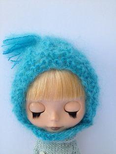 Blythe Pixie Bonnet Knitting Pattern, Free.