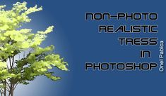 How to create non-photo realistic trees in Photoshop and create an action for this process so you can use it again and again, speeding up your work process.