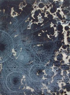 Louisa Boyd ~ Cartology 6 (two plate copper etching)
