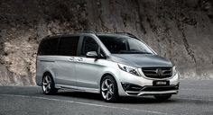 New design Mercedes V-Class body kit 2020 by LARTE Design Black Crystals, Mercedes Benz, Kit, Vehicles, Design, Design Comics, Vehicle, Tools
