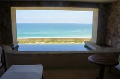 plunge pool with ocean view in every hotel room @ Capella Pedregal #babymoon