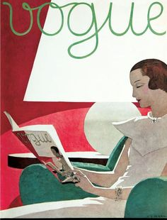 Vogue September 1932... How sad that elegance and integrity has faded away over…