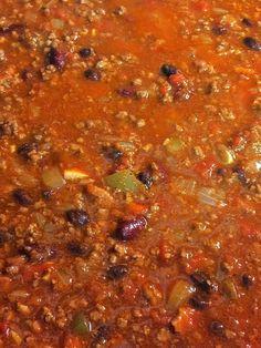 Best Chili Recipe Chili Recipe From Scratch, Chili Recipe Allrecipes, Best Chili Recipe, Chilli Recipes, Meat Recipes, Cooking Recipes, Ultimate Chili Recipe, Cowboy Chili Recipe, Soups