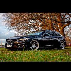 #stancewheels #slammed #bcgold #20x10s #mazda6 #stancenation #slammedseries #atenza Mazda 6 Station Wagon, Mazda 6 Wagon, Mazda Cars, Mazda 3, Mazda 6 Tourer, Mazda 6 Estate, Wagon Cars, Import Cars, Stance Nation