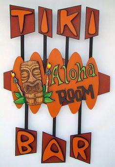 tiki bar sign 2 - mada signs - Signs Never Sleep Décor Tiki, Tiki Art, Tiki Bar Signs, Tiki Bar Decor, Diy Home Bar, Home Bar Decor, Diy Bar, Bars Tiki, Hawaiian Tiki