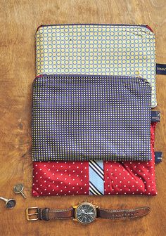 sewing gifts for men DIY Necktie Zip Pouch Sewing Tutorial Diy Gifts For Men, Diy For Men, Diy Gifts For Boyfriend, Sewing Patterns Free, Sewing Tutorials, Sewing Projects, Bag Tutorials, Sewing Ideas, Diy Projects