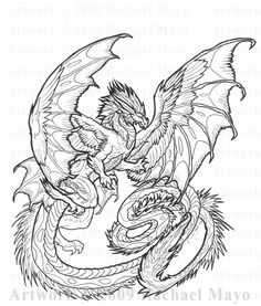 This is another little lunchtime project. I'll color this guy later; I'll certainly plug for you if y. Dragon Dance 02 line art Dragon Coloring Page, Unicorn Coloring Pages, Adult Coloring Book Pages, Printable Adult Coloring Pages, Coloring Pages To Print, Colouring Pages, Coloring Books, Dragon Tattoos For Men, Dragon Sketch