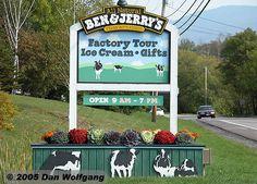 Ben & Jerry's Factory Tour, Vermont