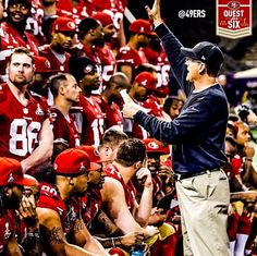 Sea of red 👿 San Francisco 49ers, Football Players, Super Bowl, Kentucky, Champion, Sea, My Love, Sports, Photography