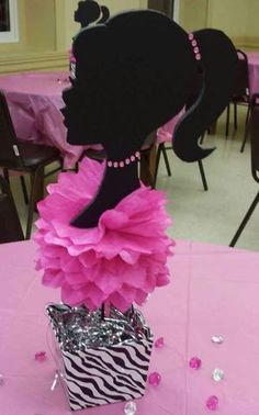 New and Used Arts & crafts for Sale in Charlotte, NC - OfferUp Barbie Centerpieces, Barbie Party Decorations, Barbie Theme Party, Barbie Birthday Party, Paris Birthday, Birthday Centerpieces, Birthday Cake Girls, Birthday Party Themes, 16th Birthday Decorations