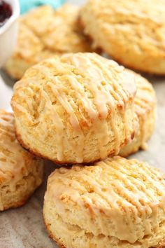 This easy Irish Cream Scone recipe is the perfect way to celebrate St. Patrick's Day!