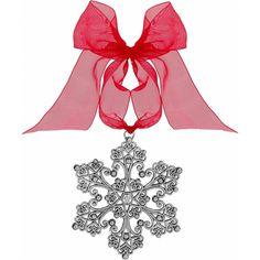 Flake Christmas Ornament