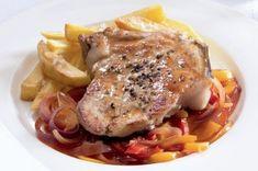 12x vepřové | Apetitonline.cz No Salt Recipes, French Toast, Pork, Menu, Chicken, Breakfast, Treats, Kale Stir Fry