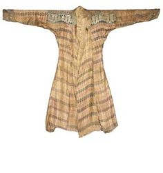 Seljuk Silk Lampas Robe, Central Asia, 11th/12th century