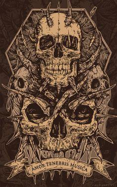 Monster Poster by TimurKhabirov