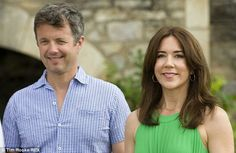 Princess mary with her husband