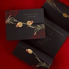 wedding ideas in red, gold and black - Google Search